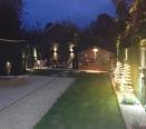 Rear Garden at Night