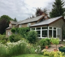Period cottage with 2 storey barn & about 5 acres