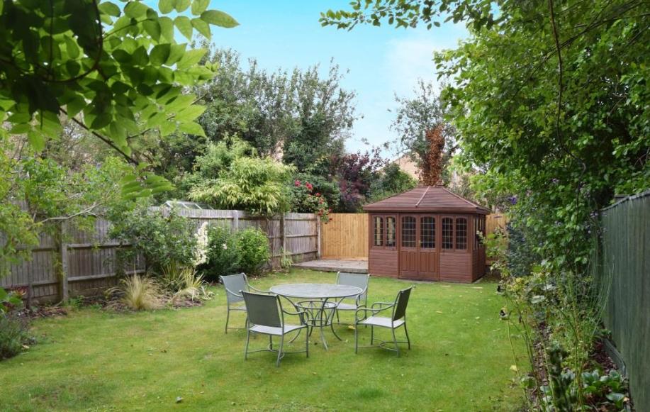 Rear Garden and Summer House