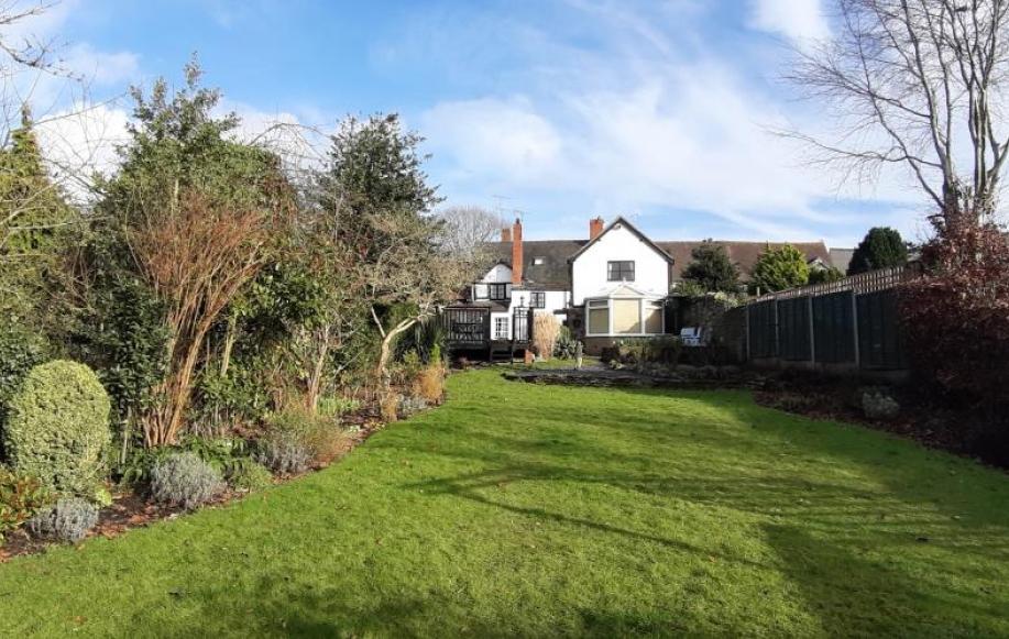 Rear aspect of property
