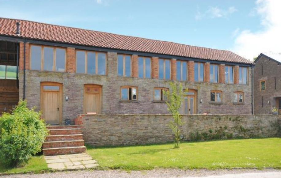 Converted barn conversion with views