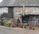 External steps to former granary