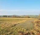 Far reaching views over surrounding farmland