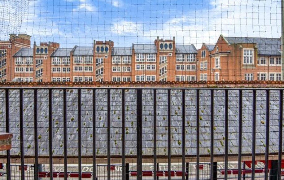 External view balcony