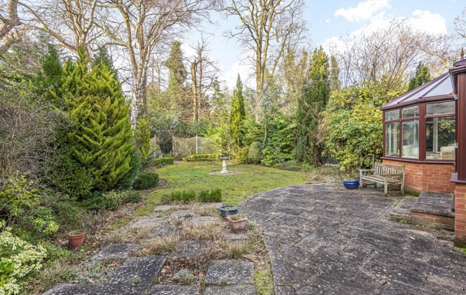 External garden view