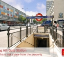Local Area Shot: Notting Hill Gate Tube