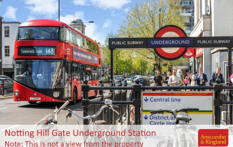 Local Area Shot: Notting Hill Gate Underground St