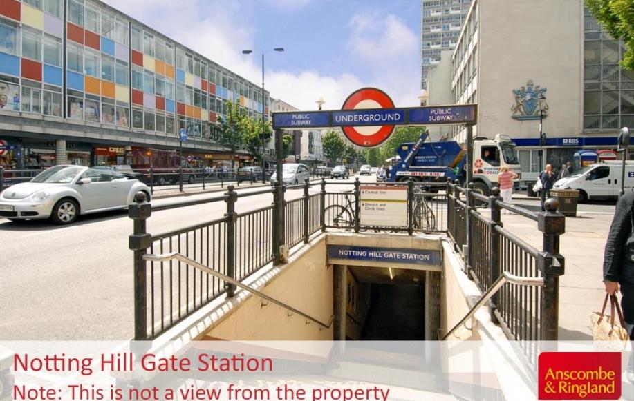 Local Area Shot: Notting Hill Gate Underground St
