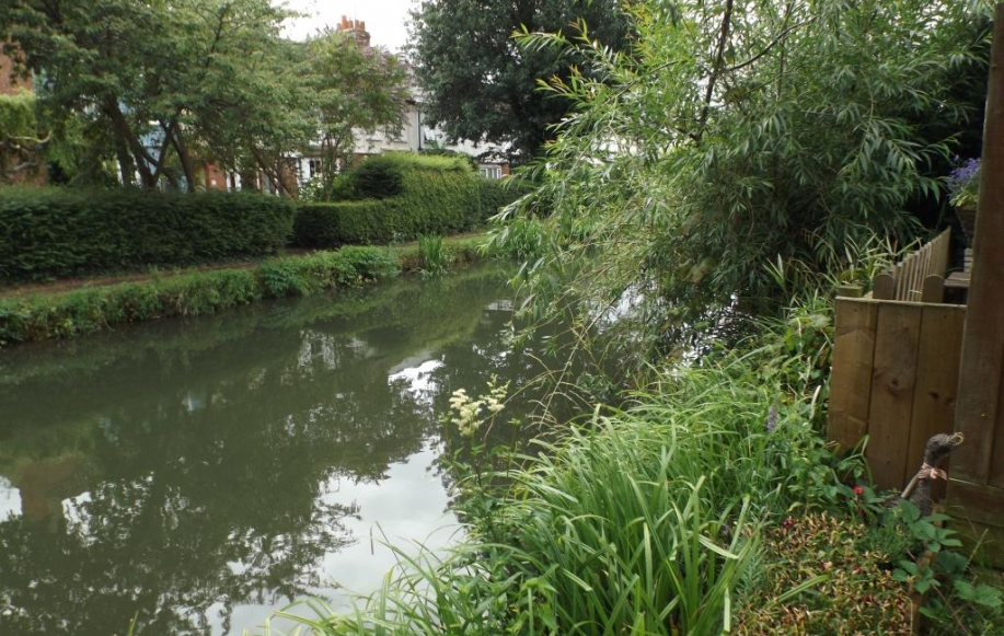 Canal Views From Rear Garden