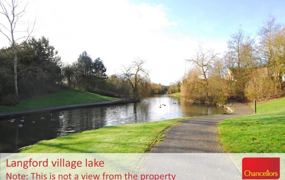 Langford Village lake