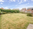 back garden from property