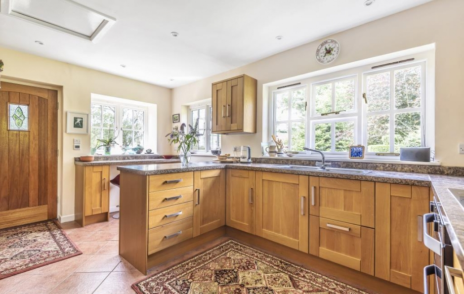 Kitchen remodeled in 2013 incl. underfloor heating