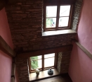 Double windowed stairwell