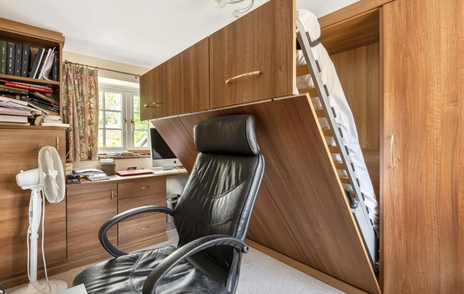 Office Study with Fold-Out Double Bed