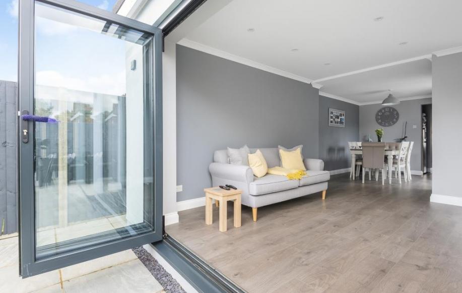 Living Area/Patio Doors