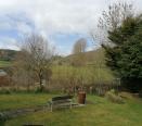 back garden overlooking views