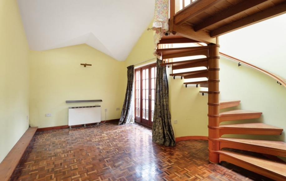 Stairs in the annexe