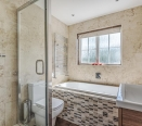 Bathroom Suite with Jacuzzi bath