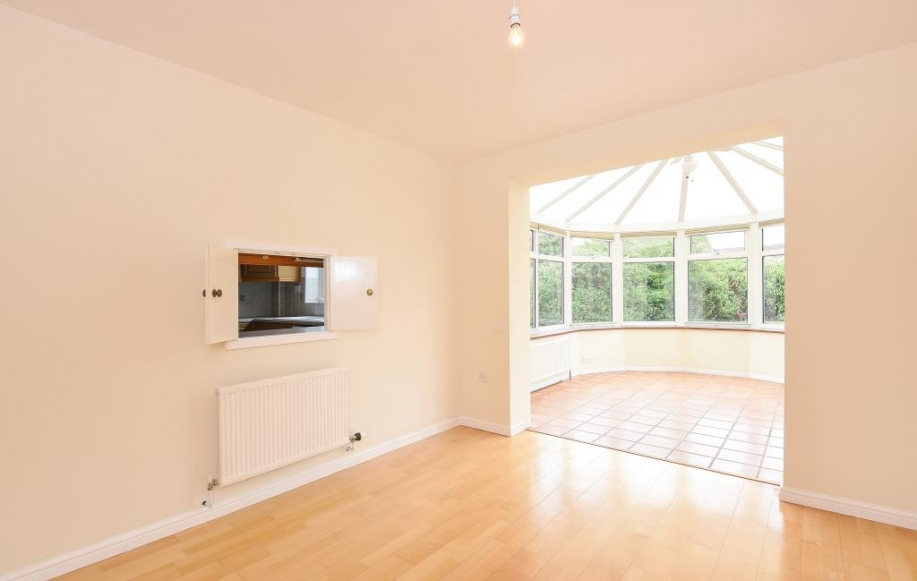 Reception Room to Conservatory
