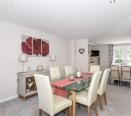 Full length kitchen/dining room