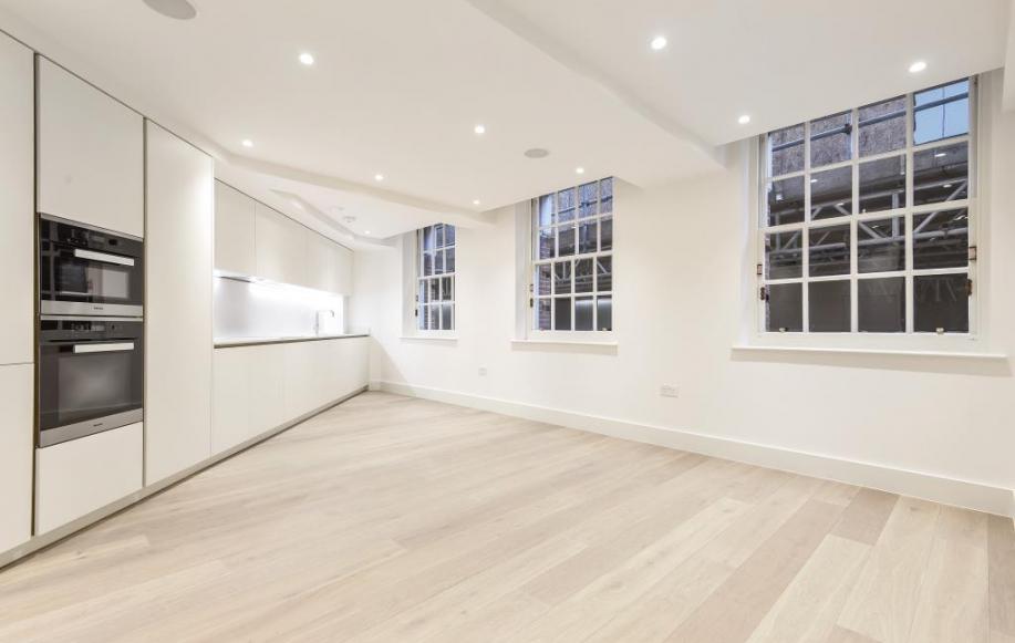 Reception Room/Kitchen (shot 2)
