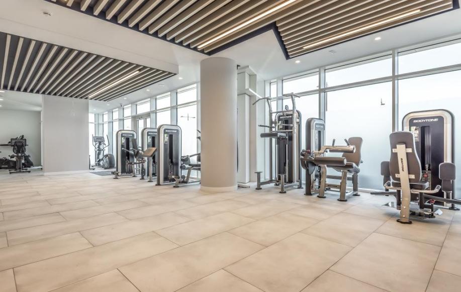 Residents Gym.