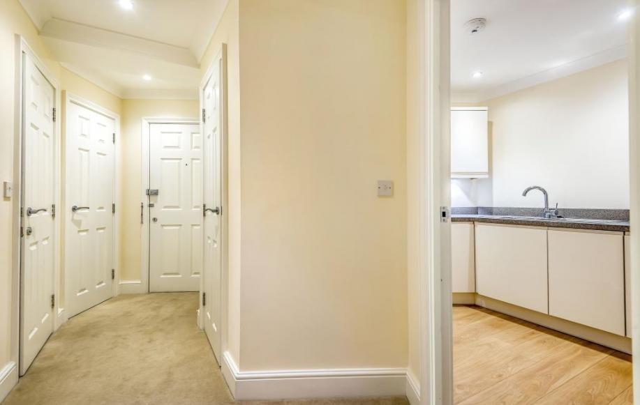 Hall & Kitchen View