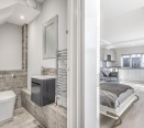 Bathroom/Open Plan Living Area