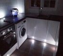 Kitchen With Mood Lighting