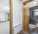 Hallway to shower room