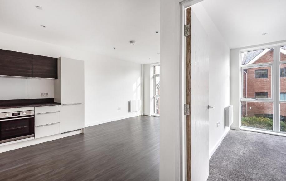 Kitchen/Lounge/Bedroom Shot
