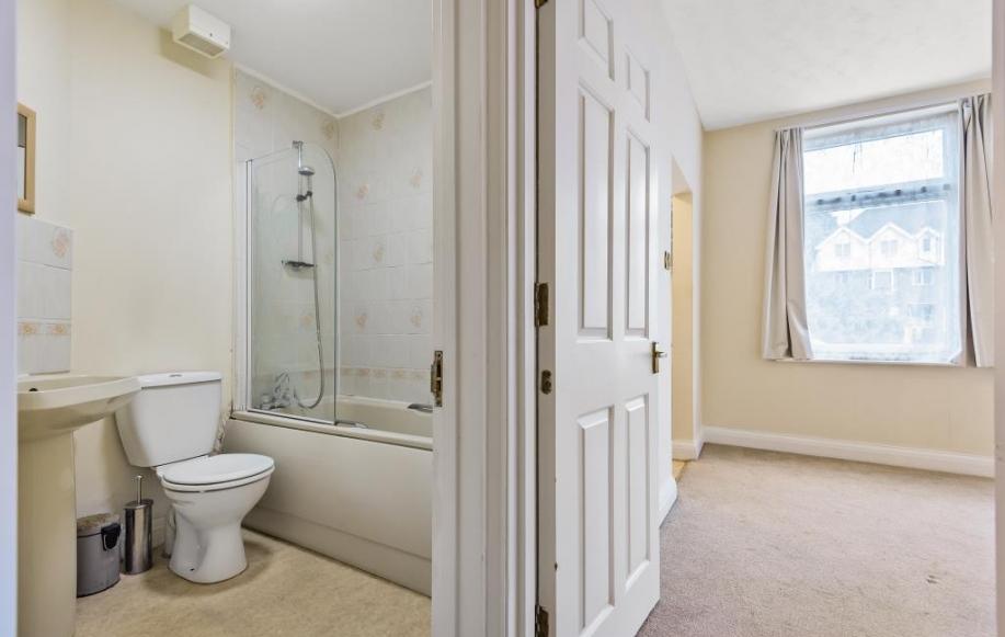 Bedroom/Bathroom View