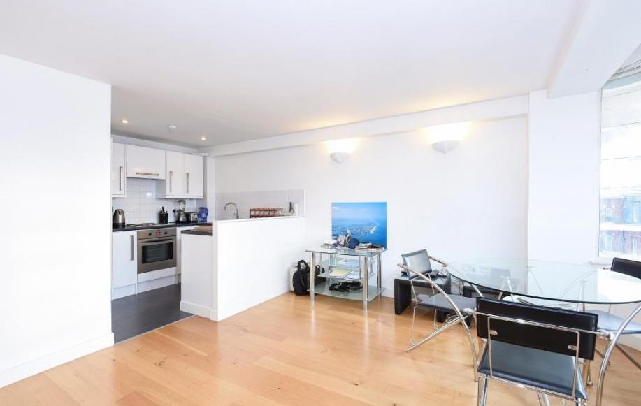 Reception Room/Kitchen (view 2)