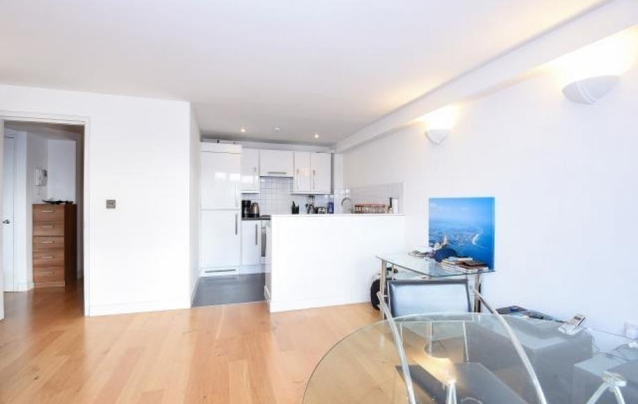 Reception Room/Kitchen (view 6)