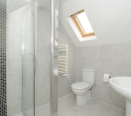 Bathroom fitted to a high standard