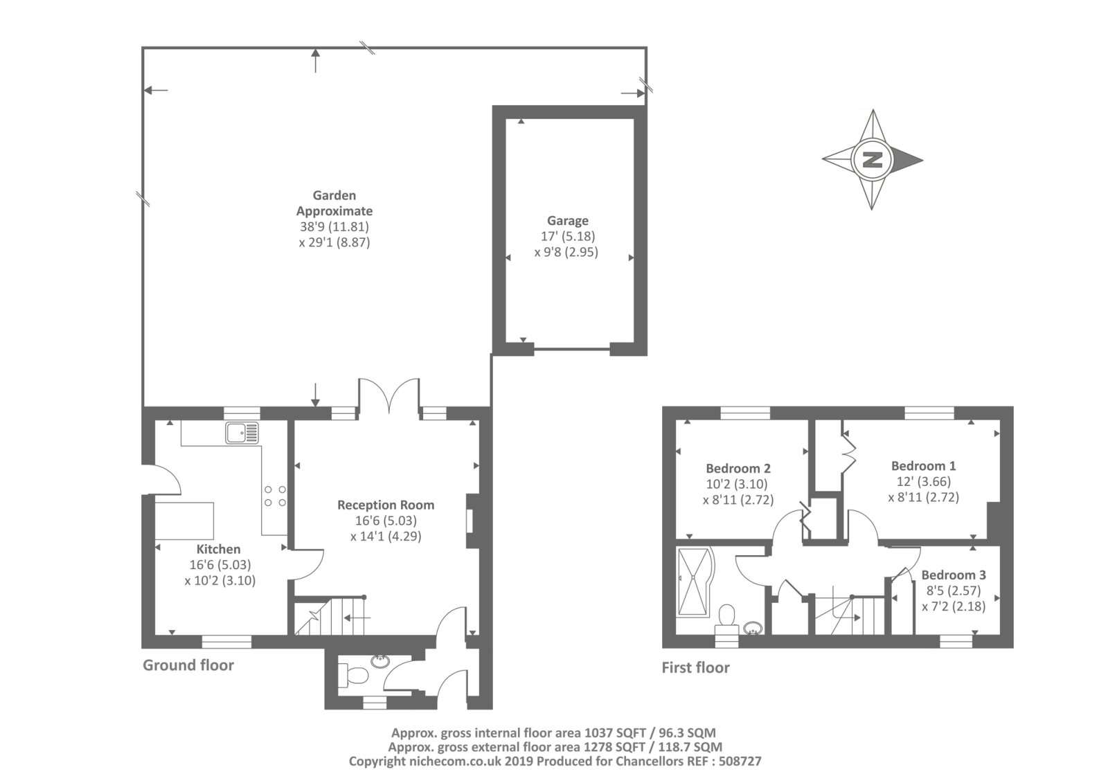 3 Bed House For Sale in Brize Norton, Oxfordshire, OX18