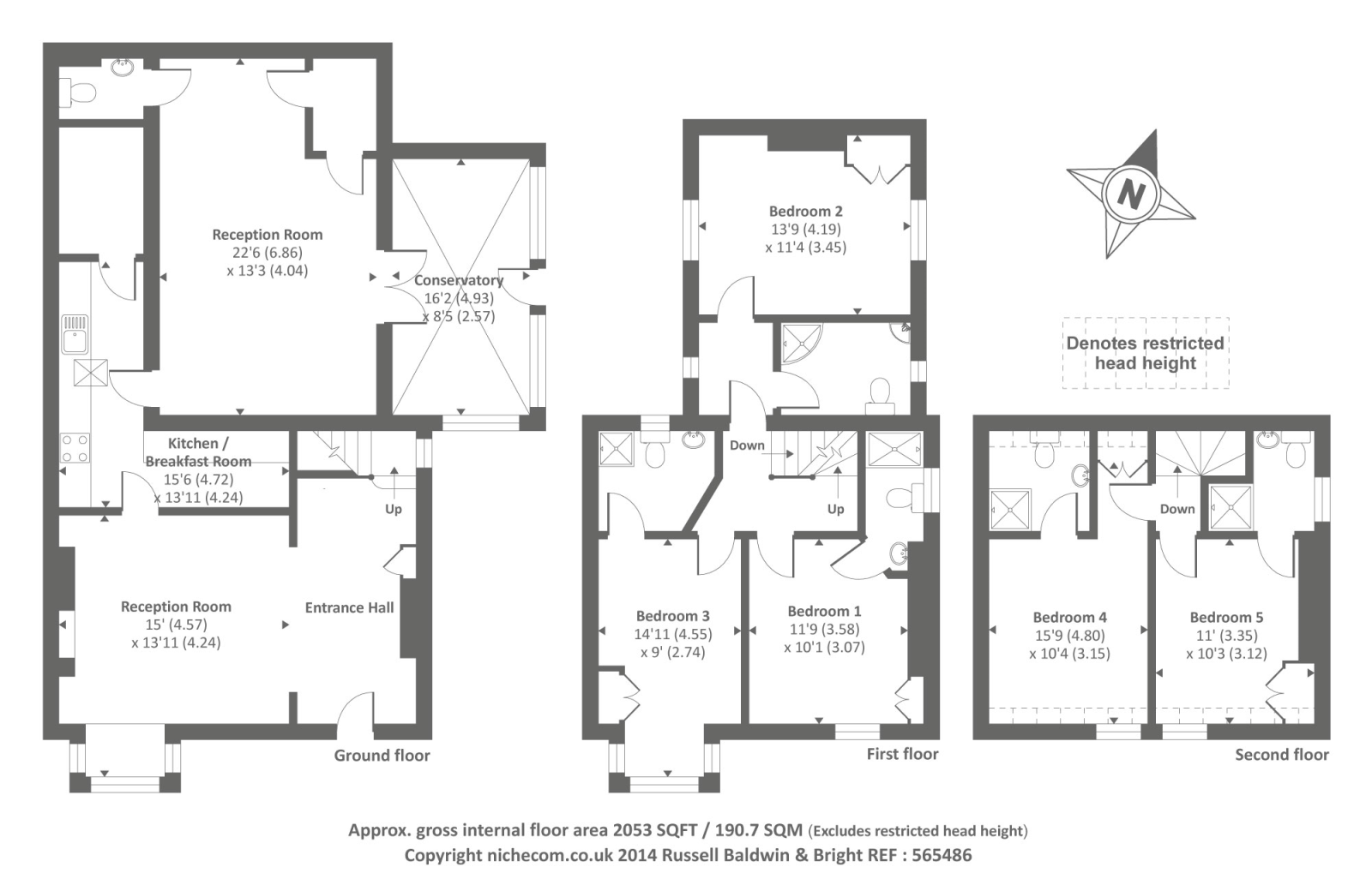 5 bed house for sale in hay on wye character townhouse in for House plan books for sale