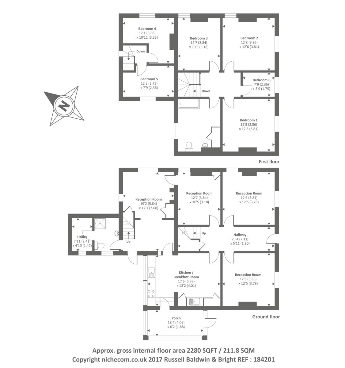 Wells Branch Apartments: 6 Bed House For Sale In AbbeyCwmHir, Llandrindod Wells,LD1