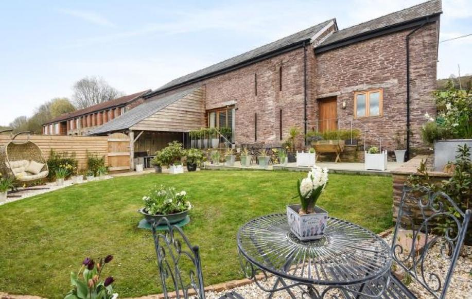 Beautifully converted barn conversion