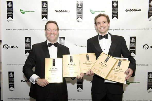 Chancellors in Oxfordshire Win 5-star International Awards for Sales & Lettings