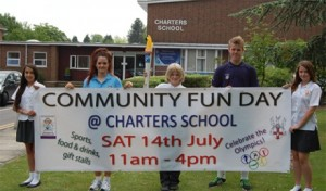 Chancellors also sponsored the Charters School Community Fun Day in July 2012