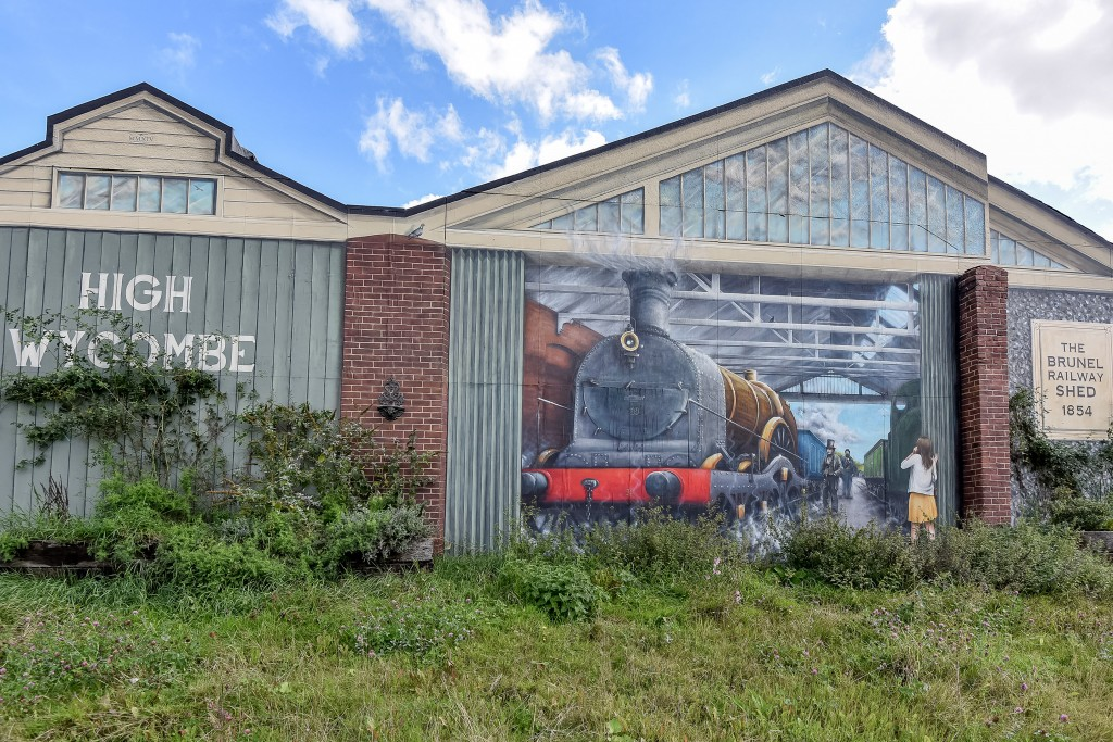 Brunel Railway Sheds in High Wycombe