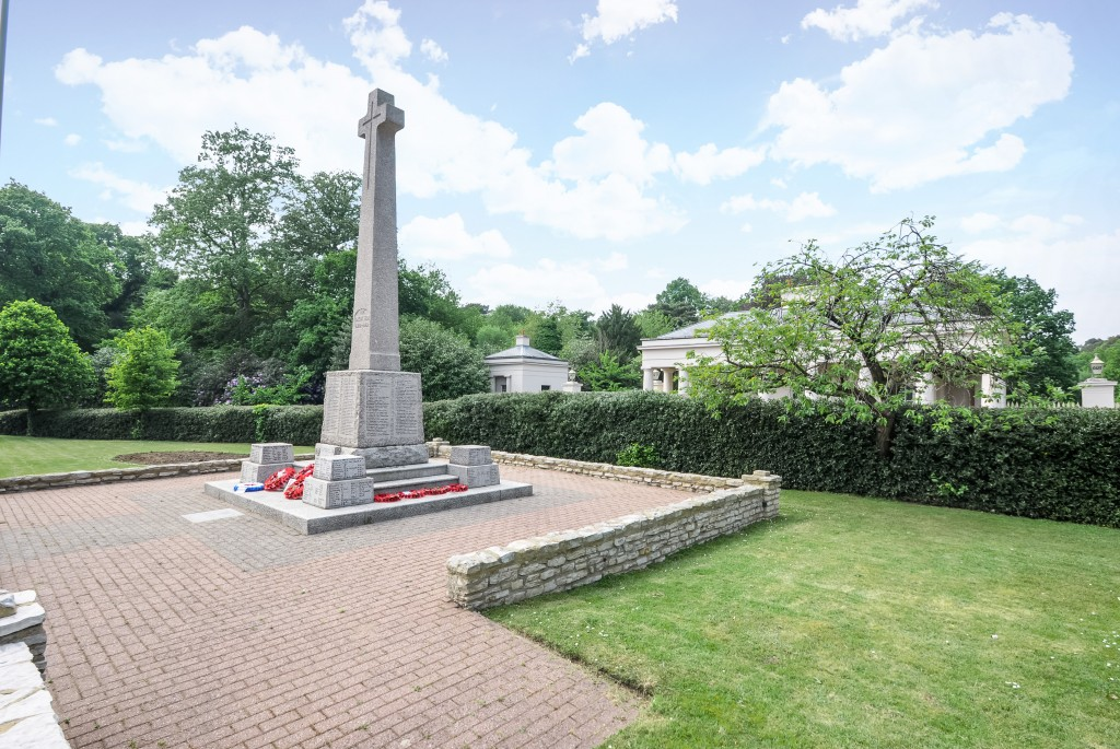 War memorial in Camberley