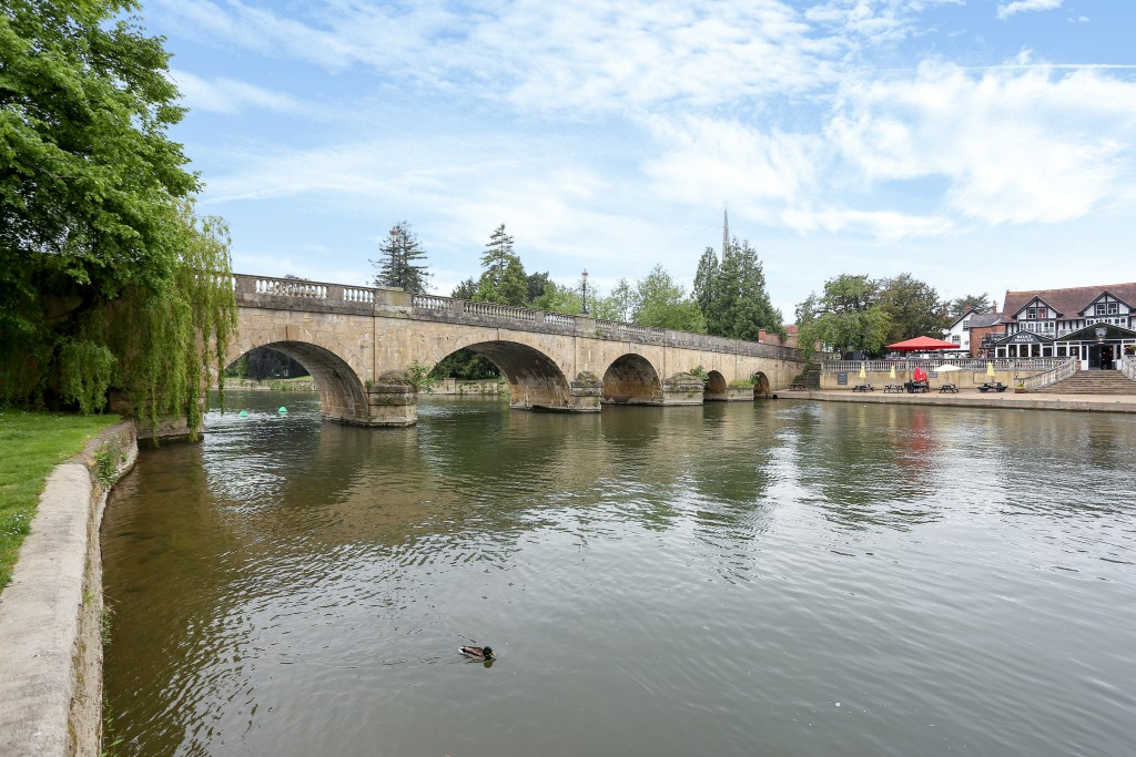 River Thames in Wallingford