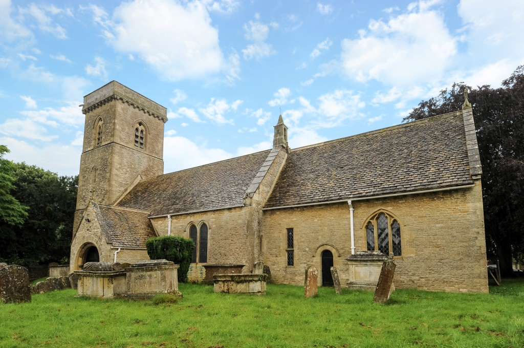 St Britius church near Carterton