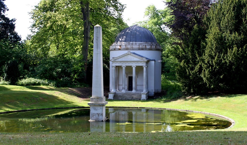 Chiswick House and Gardens is one of the best parks in West London